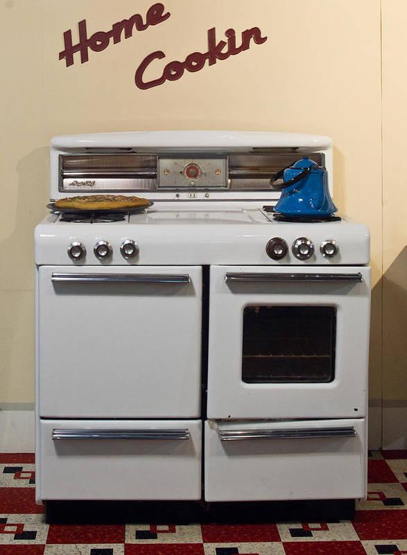 Nostalgia Poster featuring the photograph Vintage Kitchen 3 by Douglas Barnett
