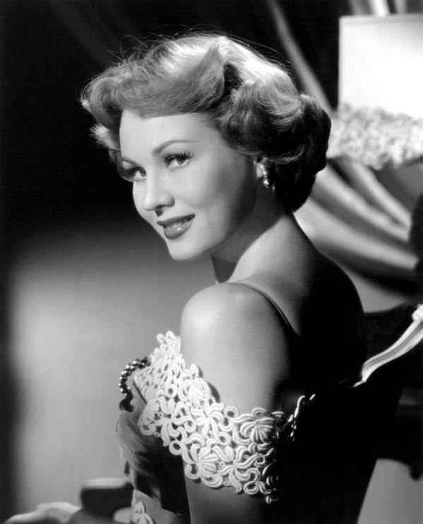 1950s Portraits Poster featuring the photograph Virginia Mayo, Ca. Early 1950s by Everett