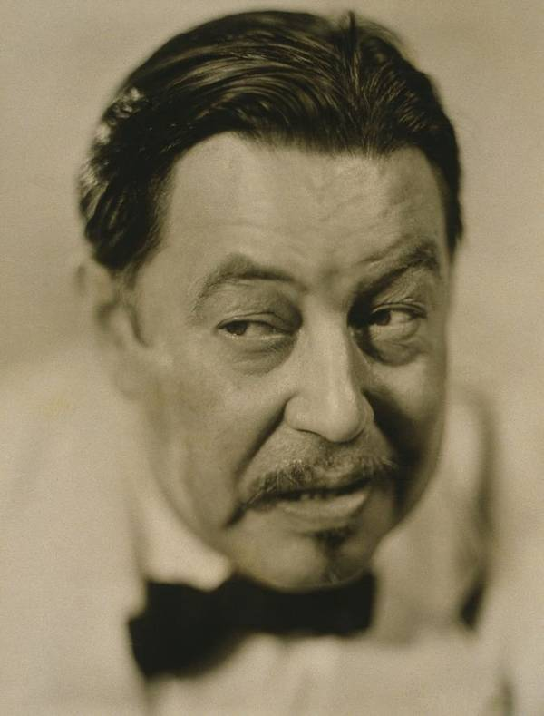 History Poster featuring the photograph Warner Oland, 1879-1938 by Everett