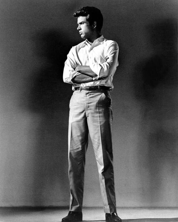 1960s Poster featuring the photograph Warren Beatty, Publicity Shot For All by Everett