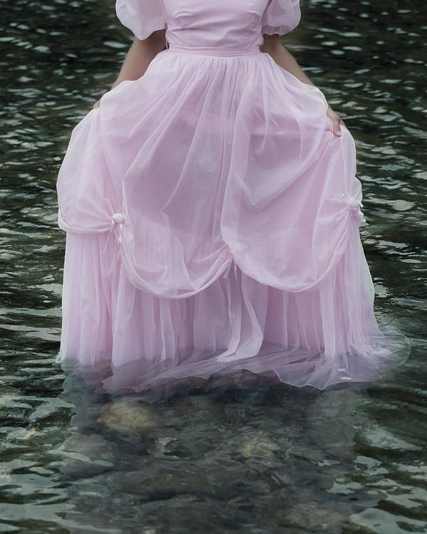 Female Poster featuring the photograph Water Bride by Joana Kruse