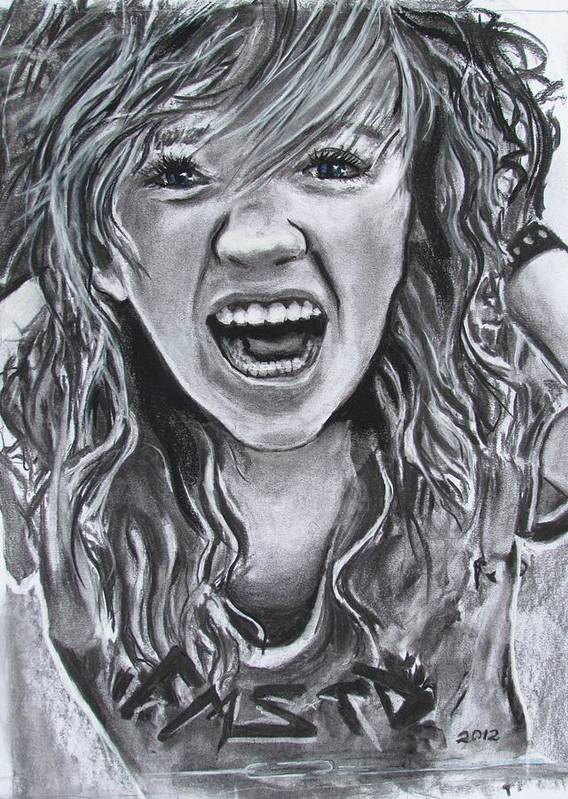 Taylor Renee Dee Poster featuring the drawing What To Do About Boys by Eric Dee
