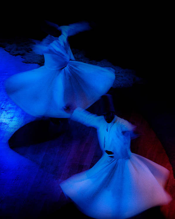 Mistic Poster featuring the photograph Whirling Dervish - 3 by Okan YILMAZ