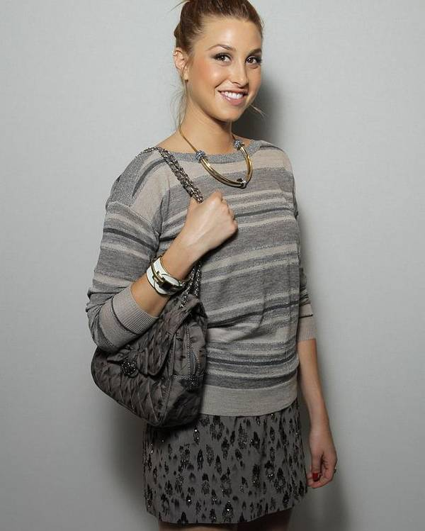 Whitney Port Poster featuring the photograph Whitney Port In Attendance For Rebecca by Everett