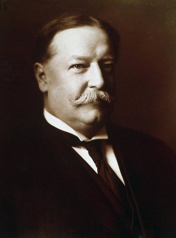 william Howard Taft Poster featuring the photograph William Howard Taft - President Of The United States by International Images