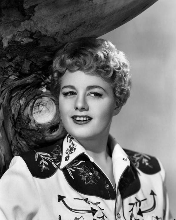 1950 Movies Poster featuring the photograph Winchester 73, Shelley Winters, 1950 by Everett