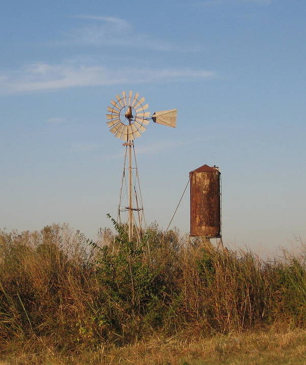 Poster featuring the photograph Windmill by Amy Hosp
