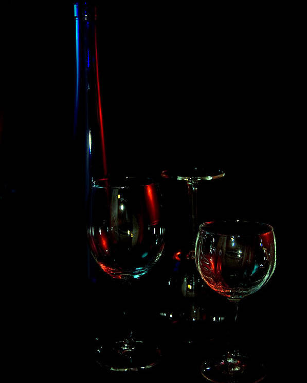 Wine Poster featuring the photograph Wine by Dan Gazit