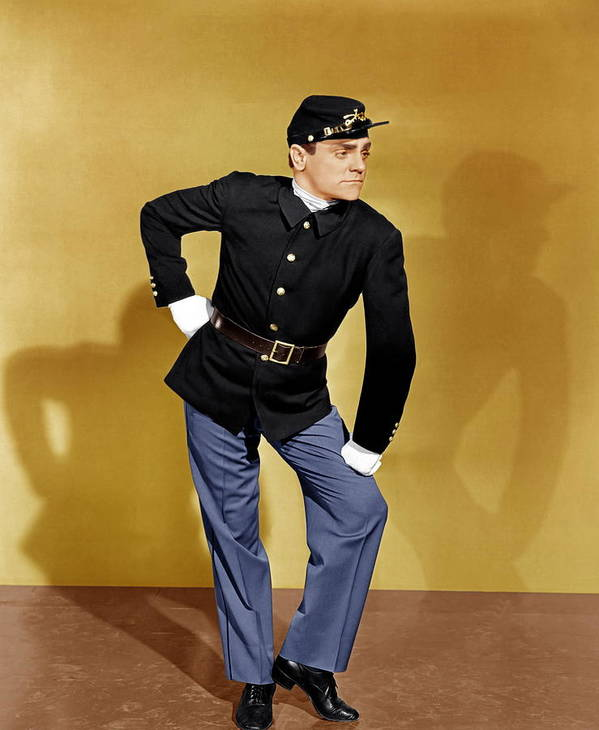 1940s Portraits Poster featuring the photograph Yankee Doodle Dandy, James Cagney, 1942 by Everett