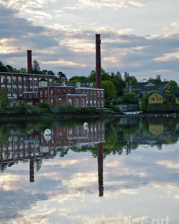 Landscape Poster featuring the photograph Exeter New Hampshire Usa by Erin Paul Donovan