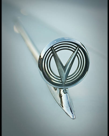 Buick Poster featuring the photograph 1950s Buick Hood Ornament by Don Krajewski
