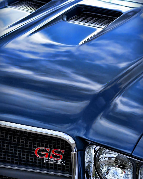1970 Poster featuring the photograph 1970 Buick Gs 455 by Gordon Dean II