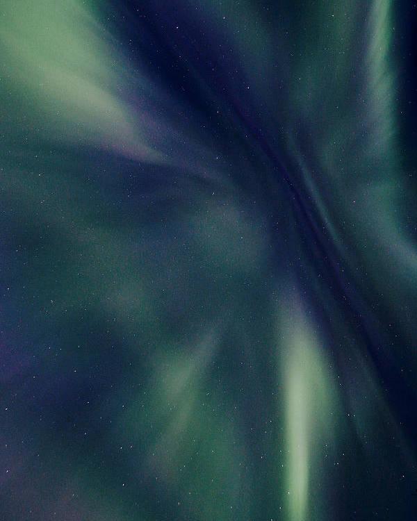 Alaska Poster featuring the photograph Alaska Aurora by Dawn Stepp