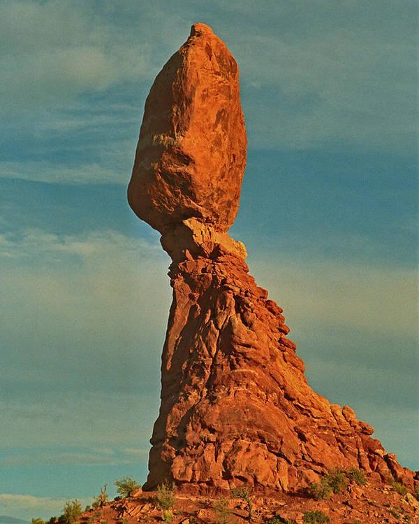 Landscape Poster featuring the photograph Balance by Alex Nakhshon