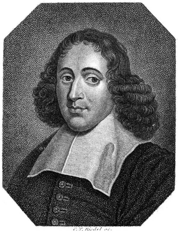17th Century Poster featuring the photograph Baruch Spinoza (1632-1677) by Granger