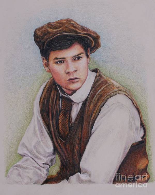Anne Of Green Gables Poster featuring the drawing Gilbert Blythe / Jonathan Crombie by Christine Jepsen
