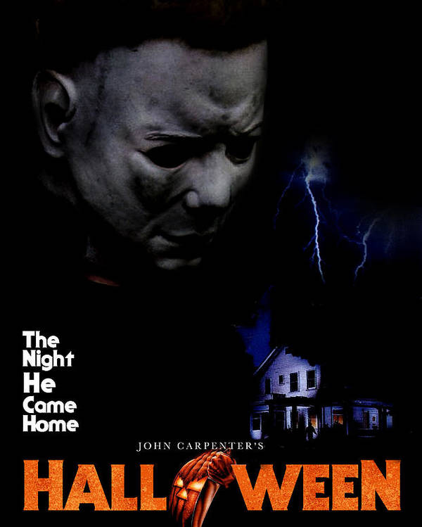 1970s Movies Poster featuring the photograph Halloween, 1978 by Everett