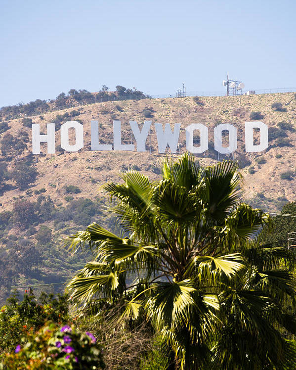 America Poster featuring the photograph Hollywood Sign Photo by Paul Velgos