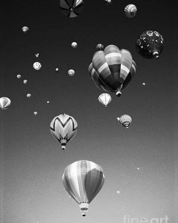 Adventure Poster featuring the photograph Hot Air Balloons by Michael Howell - Printscapes