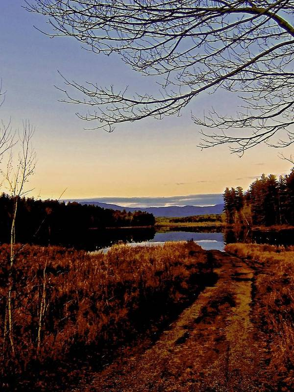 Poster featuring the photograph Kanasatka Lake by Elizabeth Tillar