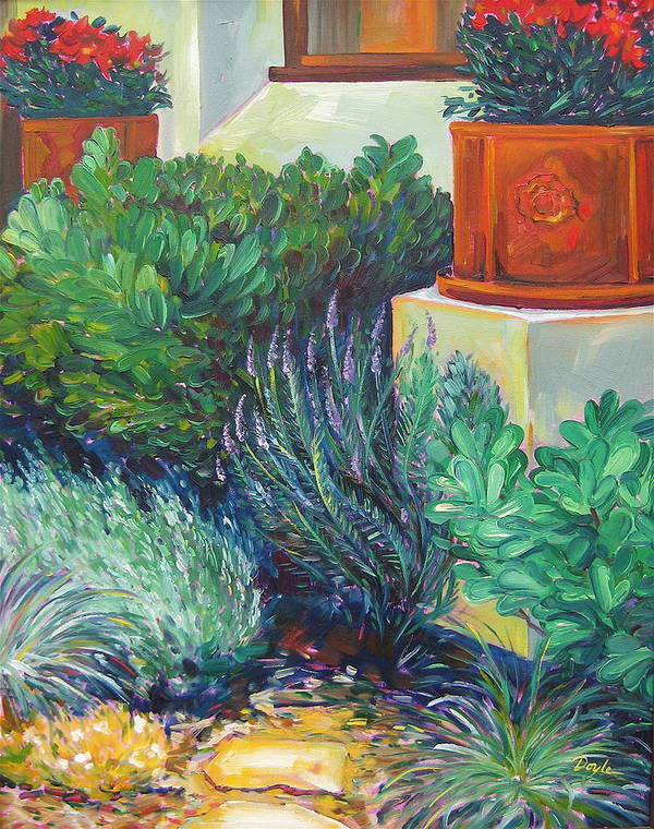 Poster featuring the painting lavender Delight by Karen Doyle