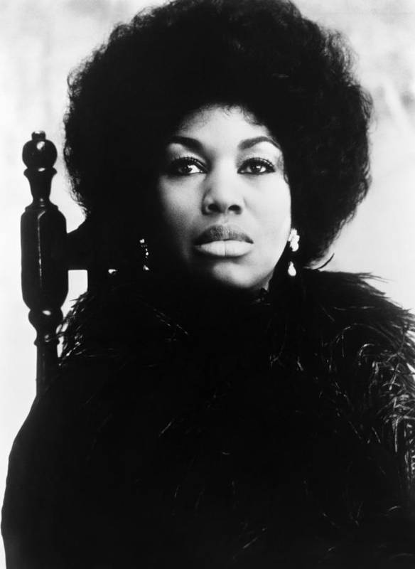 1970s Portraits Poster featuring the photograph Leontyne Price, American Opera Singer by Everett