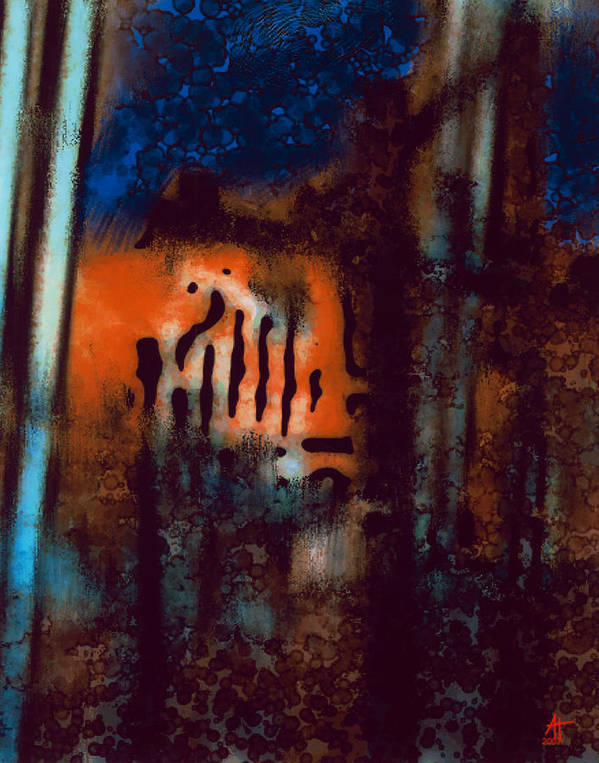 Photography Poster featuring the painting Message 3 by Ann Tracy