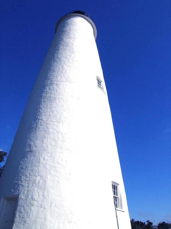 Ocracoke Poster featuring the photograph Ocracoke Island Light House by Wayne Potrafka