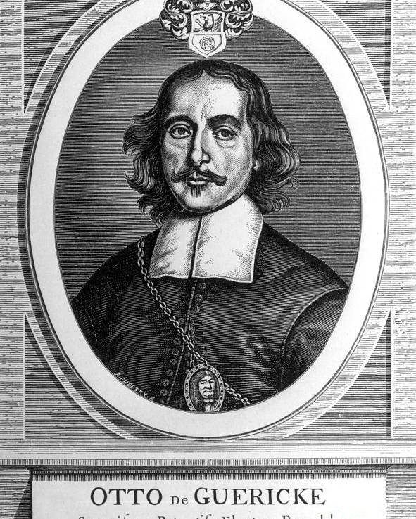 Science Poster featuring the photograph Otto Von Guericke, German Scientist by Science Source