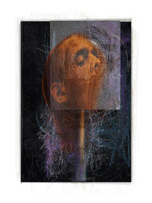 Portrait Poster featuring the digital art Popper by Nuff