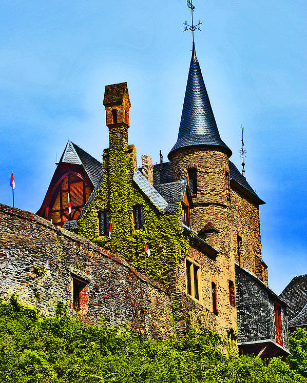 Reichsburg Cochem Poster featuring the photograph Reichsburg Cochem. by Andy Za