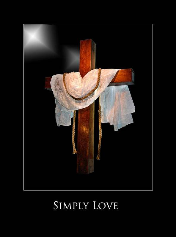 Poster featuring the photograph Simply Love by Richard Gordon