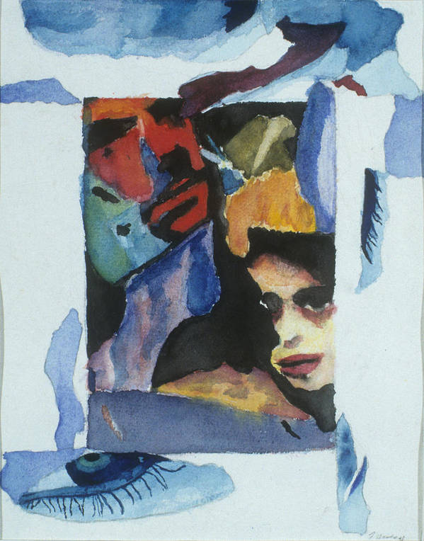 Watercolor Poster featuring the painting Untitled by Jamie Wooten