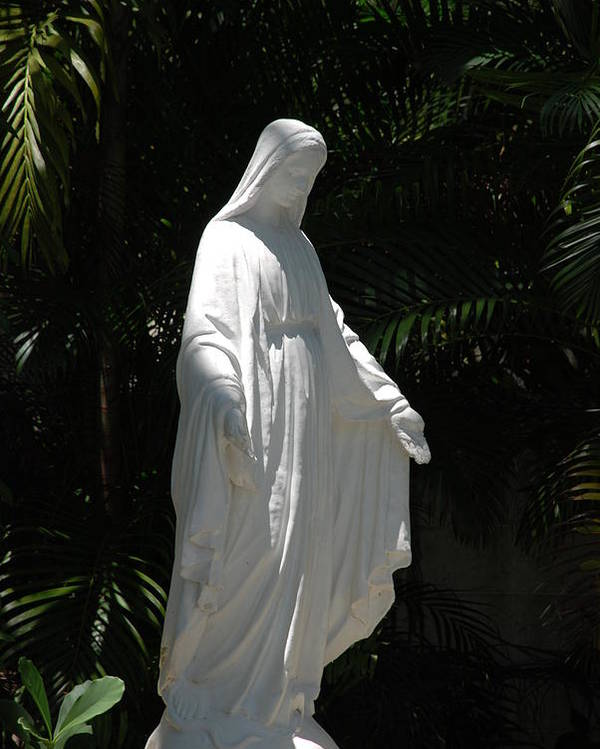 Florida Poster featuring the photograph Virgin Mary by Rob Hans