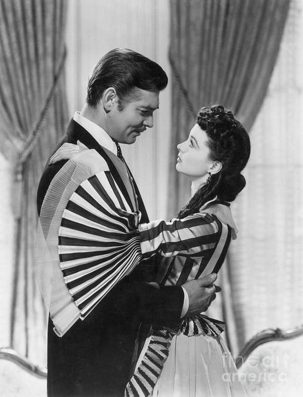1939 Poster featuring the photograph Gone With The Wind, 1939 by Granger