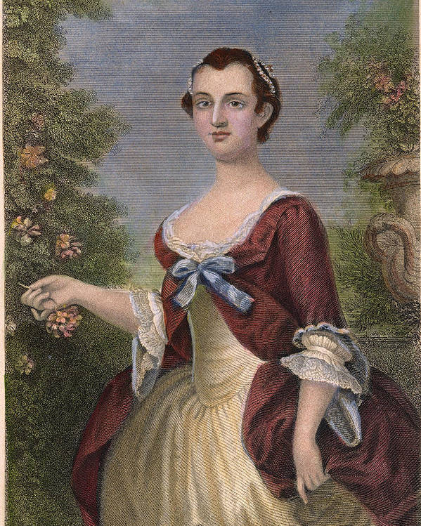 1757 Poster featuring the photograph Martha Washington by Granger