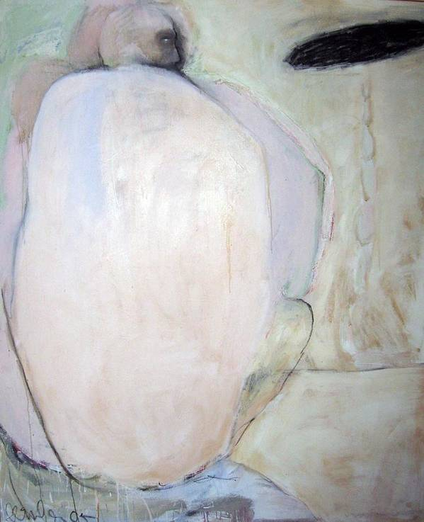 Figure Poster featuring the painting Untitled by Brooke Wandall