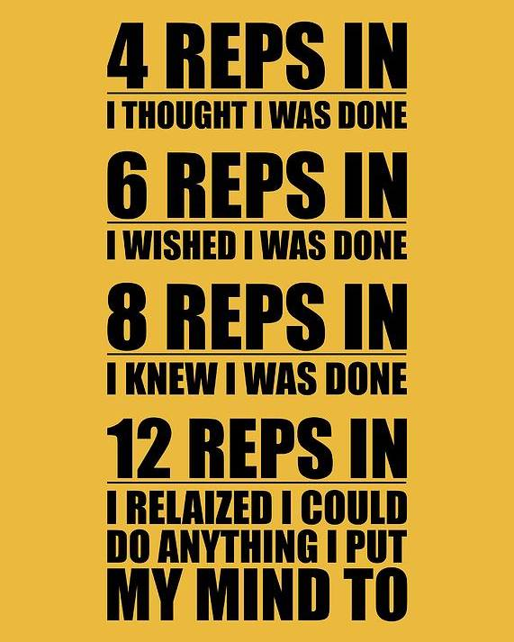 Gym Quotes 12 Reps In I Relaized I Could Do Anthing I Put My Mind Gym Quotes  Gym Quotes