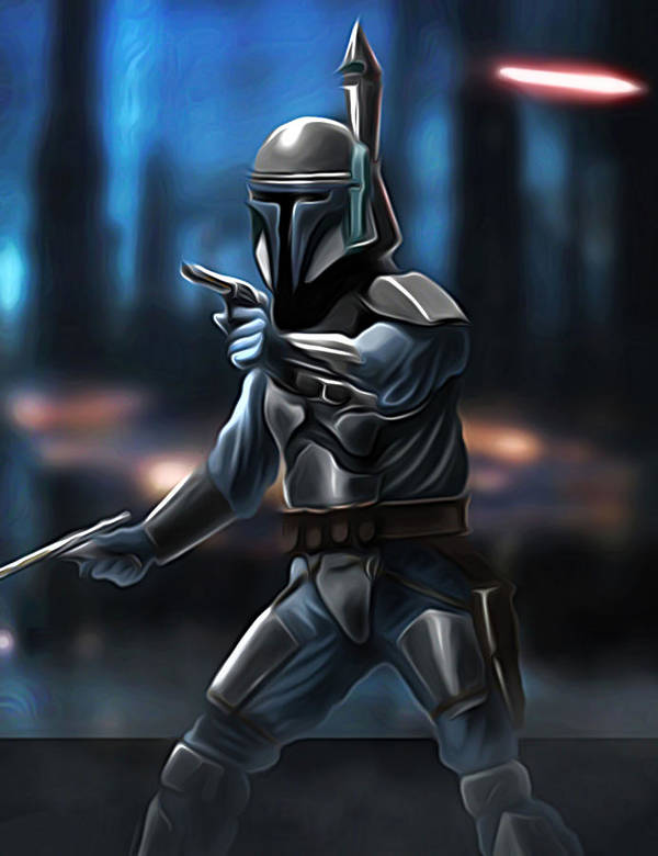 Star Wars Poster featuring the digital art Star Wars Heroes Art by Larry Jones