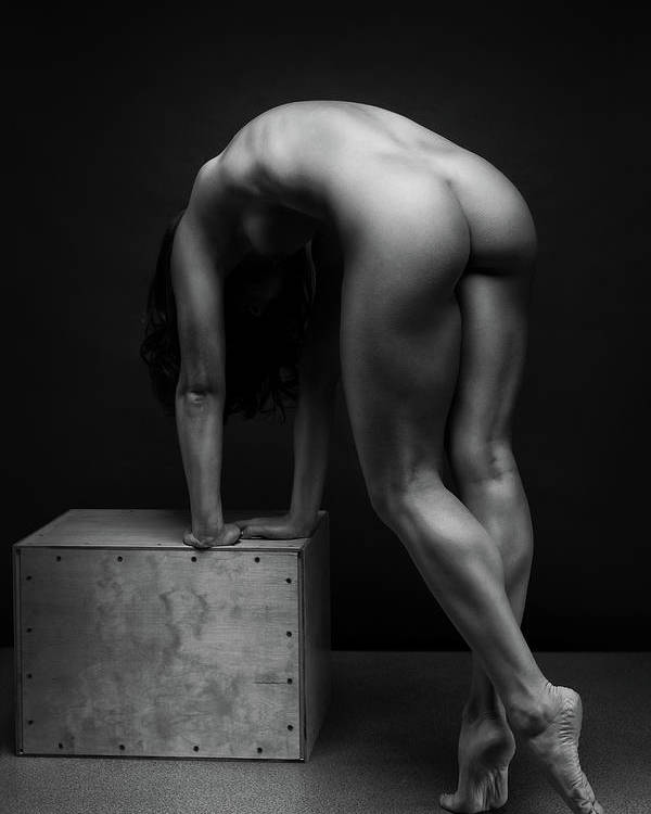 Women Poster featuring the photograph Bodyscape     by Anton Belovodchenko