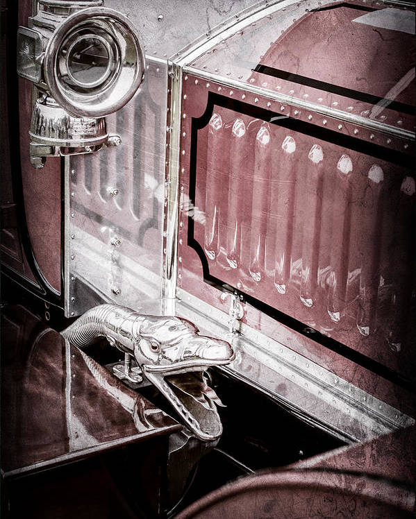 1912 Rolls-royce Silver Ghost Rothchild Et Fils Style Limousine Snake Horn Poster featuring the photograph 1912 Rolls-royce Silver Ghost Rothchild Et Fils Style Limousine Snake Horn -0711ac by Jill Reger