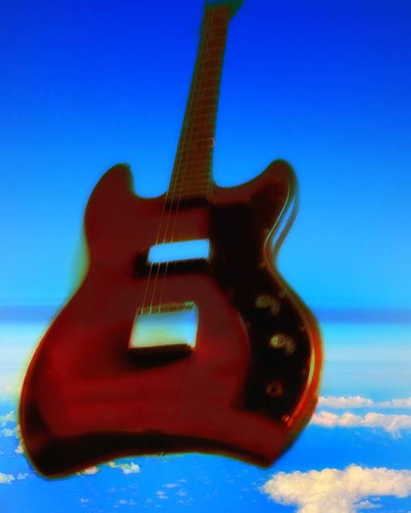 Guitar Poster featuring the photograph 1963 Guild Jet Star by Bill Cannon
