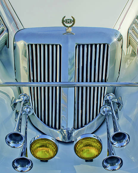 1985 Tiffany Coupe Poster featuring the photograph 1985 Tiffany Coupe Grille by Jill Reger