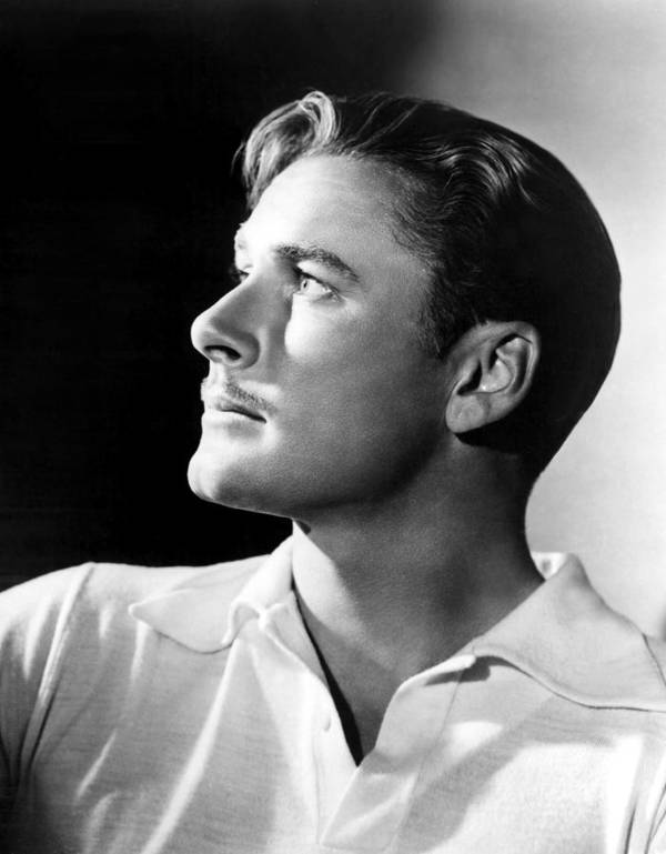 1930s Portraits Poster featuring the photograph Errol Flynn, 1930s by Everett