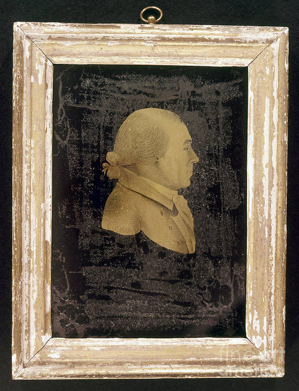 19th Century Poster featuring the photograph James Madison (1751-1836) by Granger