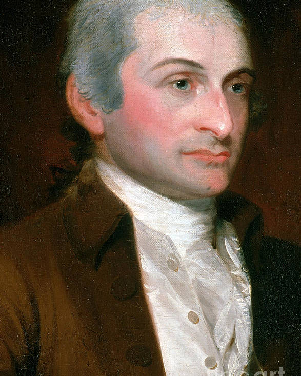 History Poster featuring the photograph John Jay, American Founding Father by Photo Researchers