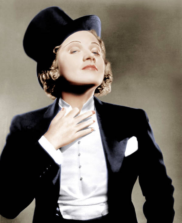 1930 Movies Poster featuring the photograph Morocco, Marlene Dietrich, 1930 by Everett