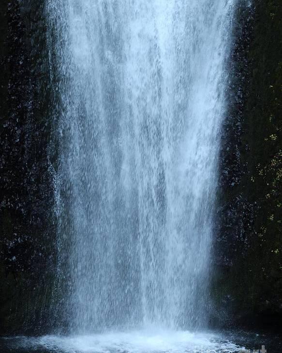 Poster featuring the photograph Multnomah Falls by Rupali Kumbhani