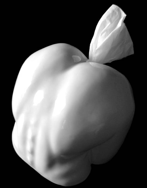 Erotic Poster featuring the ceramic art Arttickle 1 Take Two by Adam Allen