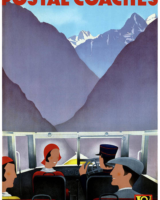 Travel Poster featuring the mixed media Switzerland Vintage Travel Poster Restored by Vintage Treasure